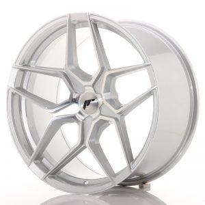 JR Wheels JR34 20x10 ET20-40 5H BLANK Silver Machined Face