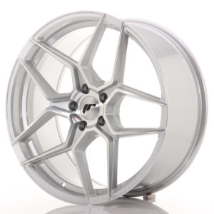 JR Wheels JR34 20x9 ET40 5x112 Silver Machined Face