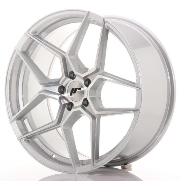 JR Wheels JR34 20x9 ET40 5x112 Silver Machined Face