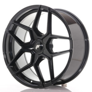 JR Wheels JR34 20x9 ET20-40 5H BLANK Gloss Black
