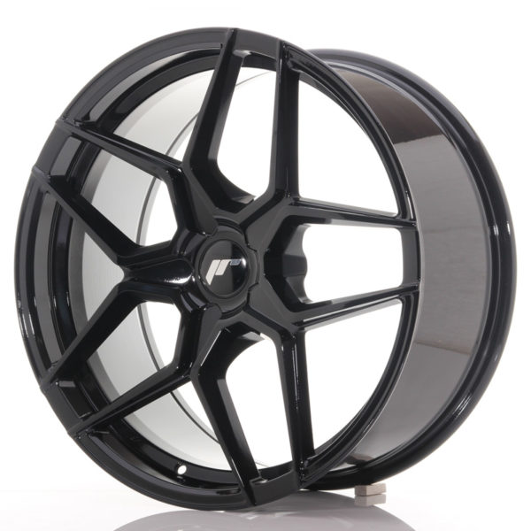 JR Wheels JR34 20x9 ET20-40 5H BLANK Gloss Black