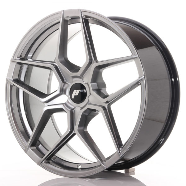 JR Wheels JR34 20x9 ET20-40 5H BLANK Hyper Black