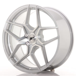 JR Wheels JR34 20x9 ET20-40 5H BLANK Silver Machined Face