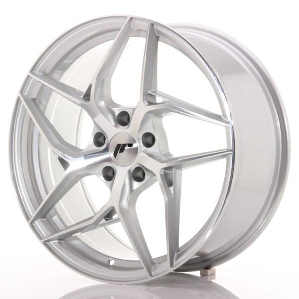 JR Wheels JR35 19x8,5 ET35 5x120 Silver Machined Face