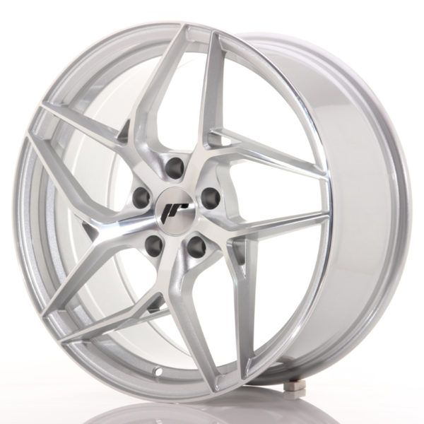 JR Wheels JR35 19x8,5 ET35-45 5H BLANK Silver Machined Face
