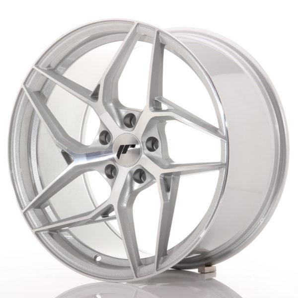 JR Wheels JR35 19x9,5 ET35 5x120 Silver Machined Face