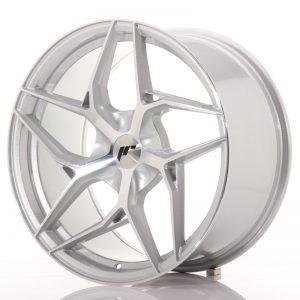 JR Wheels JR35 19x9,5 ET20-45 5H BLANK Silver Machined Face
