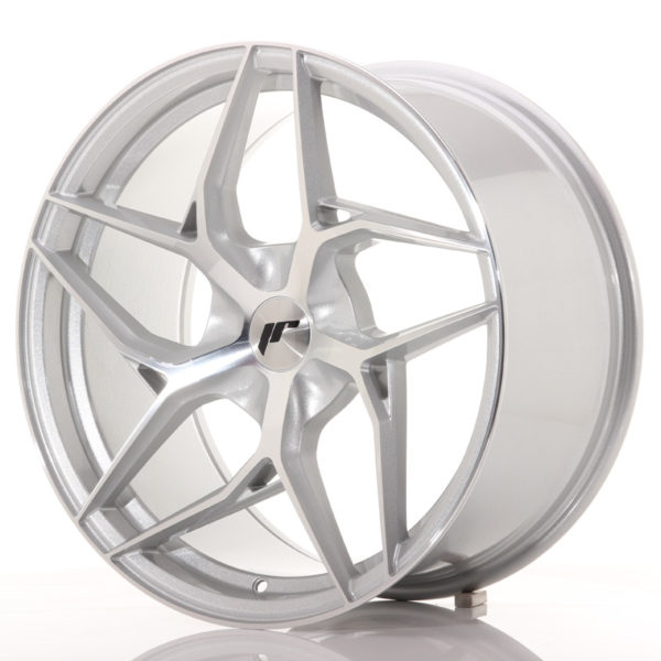 JR Wheels JR35 19x9,5 ET20-45 5H BLANK Silver Machined Face