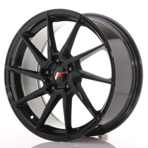 JR Wheels JR36 18x8 ET45 5x112 Gloss Black