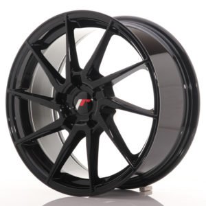 JR Wheels JR36 18x8 ET20-52 5H BLANK Gloss Black
