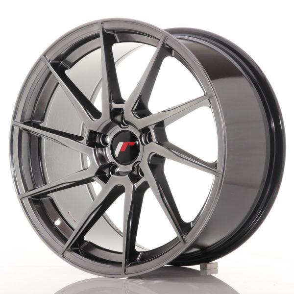 JR Wheels JR36 18x9 ET45 5x114.3 Hyper Black