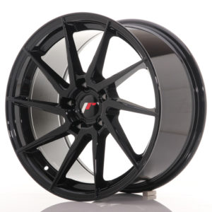 JR Wheels JR36 18x9 ET45 5x112 Gloss Black