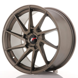 JR Wheels JR36 18x9 ET20-48 5H BLANK Matt Bronze