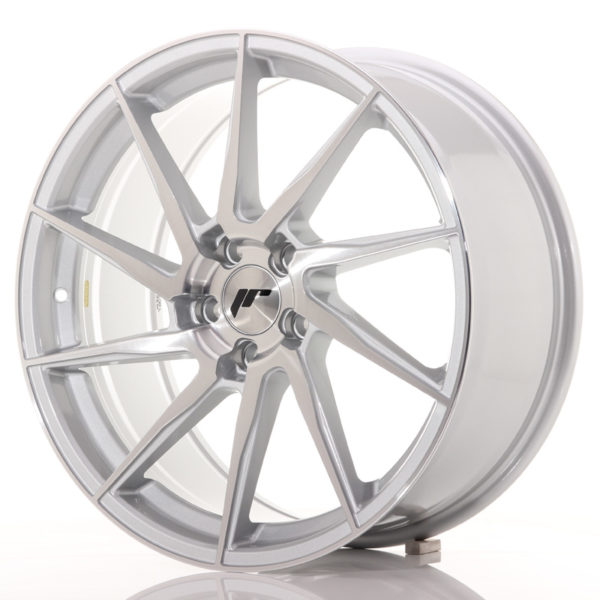 JR Wheels JR36 19x8,5 ET35 5x120 Silver Brushed Face