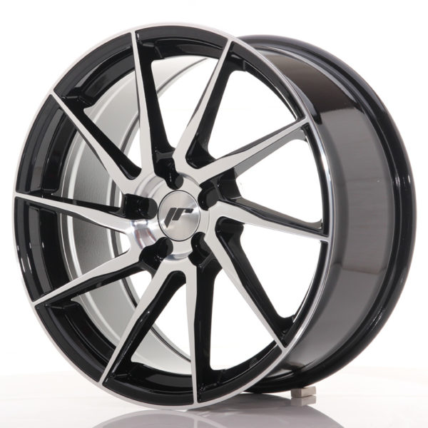 JR Wheels JR36 19x8,5 ET20-50 5H BLANK Gloss Black Machined Face