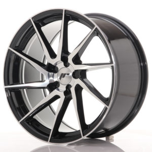 JR Wheels JR36 19x9,5 ET20-45 5H BLANK Gloss Black Machined Face