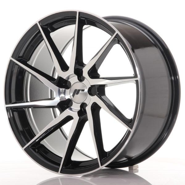 JR Wheels JR36 19x9,5 ET20-45 5H BLANK Gloss Black Machined Face