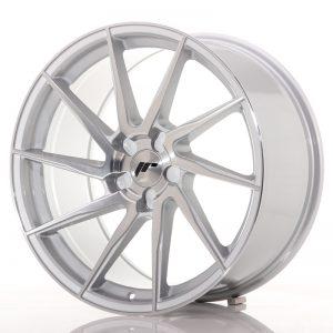 JR Wheels JR36 19x9,5 ET20-45 5H BLANK Silver Brushed Face