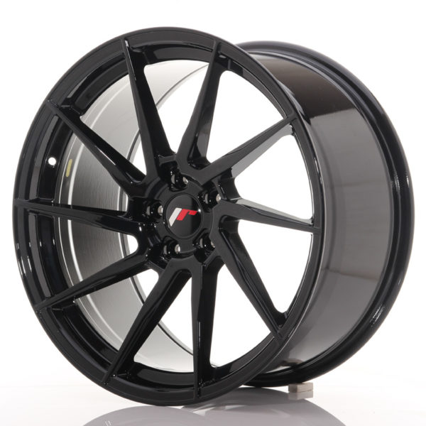 JR Wheels JR36 20x10 ET35 5x120 Gloss Black