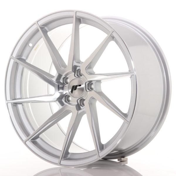 JR Wheels JR36 20x10 ET35 5x120 Silver Brushed Face
