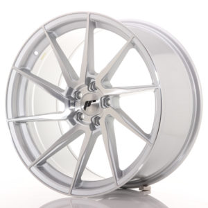JR Wheels JR36 20x10 ET40 5x112 Silver Brushed Face
