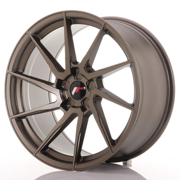 JR Wheels JR36 20x10 ET20-45 5H BLANK Matt Bronze
