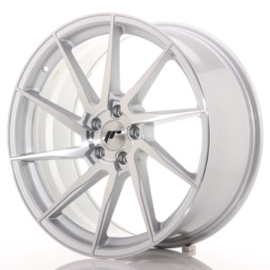 JR Wheels JR36 20x9 ET35 5x120 Silver Brushed Face