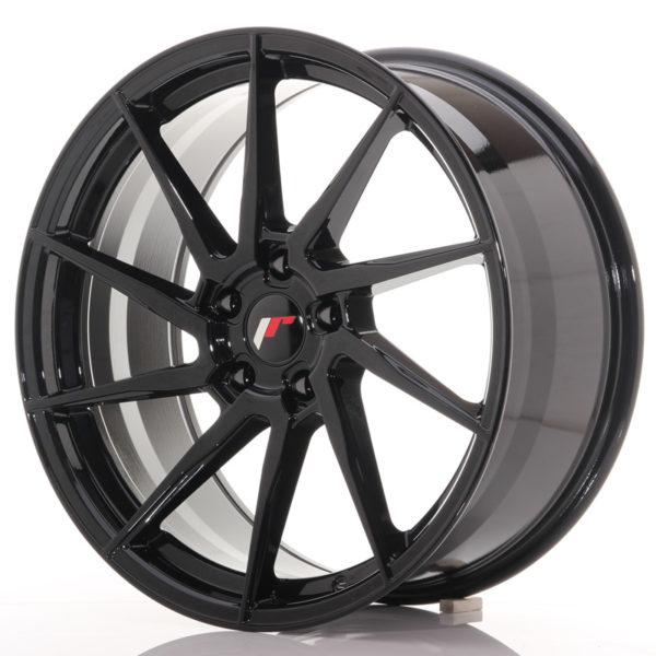JR Wheels JR36 20x9 ET38 5x112 Gloss Black