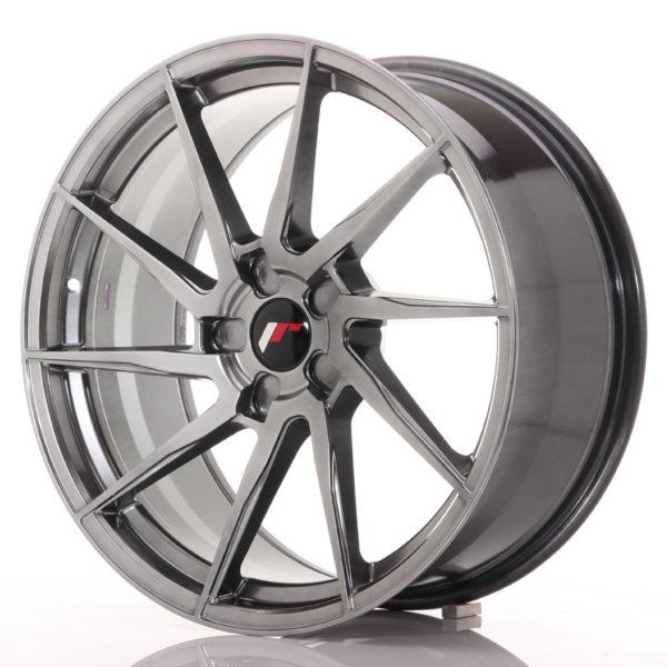 JR Wheels JR36 20x9 ET15-42 5H BLANK Hyper Black
