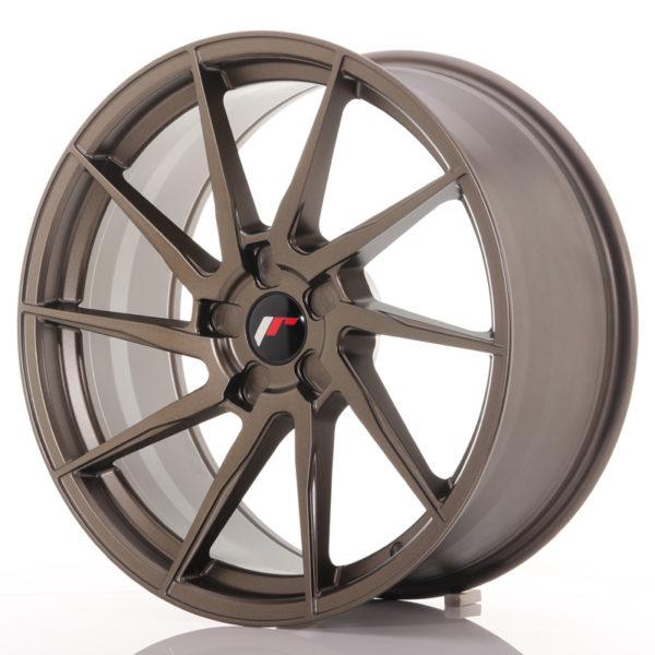 JR Wheels JR36 20x9 ET15-42 5H BLANK Matt Bronze