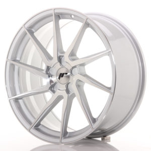 JR Wheels JR36 20x9 ET15-42 5H BLANK Silver Brushed Face