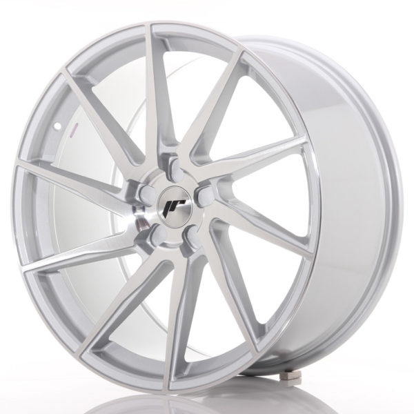 JR Wheels JR36 22x10,5 ET15-55 5H BLANK Silver Brushed Face