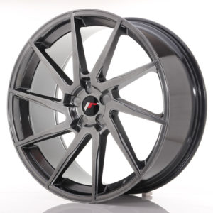 JR Wheels JR36 23x10 ET30-55 5H BLANK Hyper Black