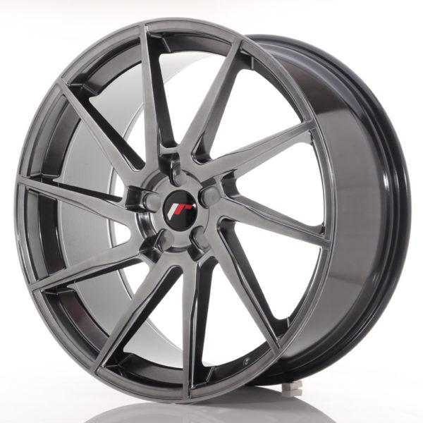 JR Wheels JR36 23x10 ET30-55 5H BLANK Hyper Black