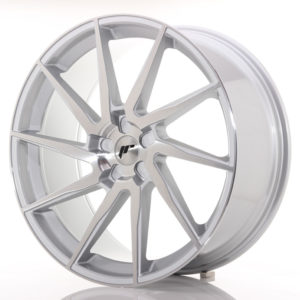 JR Wheels JR36 23x10 ET30-55 5H BLANK Silver Brushed Face
