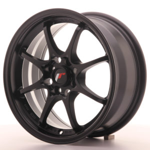 JR Wheels JR5 15x7 ET35 4x100 Matt Black