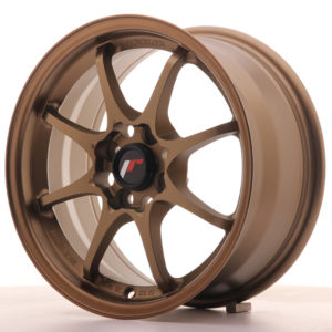 JR Wheels JR5 15x7 ET35 4x100 Dark Anodized Bronze