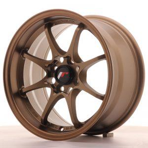JR Wheels JR5 15x8 ET28 4x100 Dark Anodized Bronze