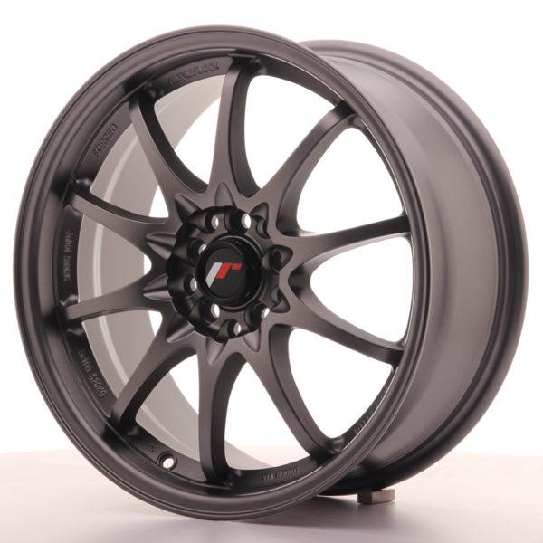 JR Wheels JR5 17x7,5 ET35 5x100/114,3 Matt Gun Metal