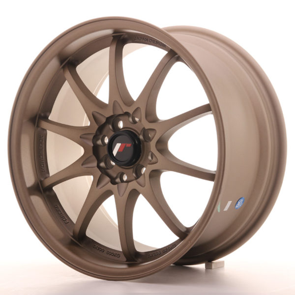 JR Wheels JR5 17x8,5 ET35 5x100/114,3 Dark Anodized Bronze
