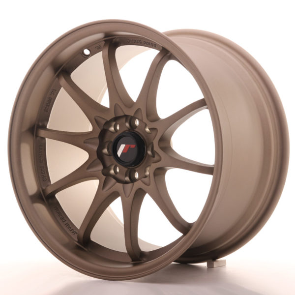 JR Wheels JR5 17x9,5 ET25 5x100/114,3 Dark Anodized Bronze