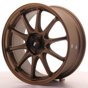 JR Wheels JR5 18x8 ET35 5H BLANK Dark Anodized Bronze