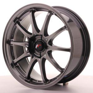 JR Wheels JR5 18x8 ET35 5H BLANK Hyper Black