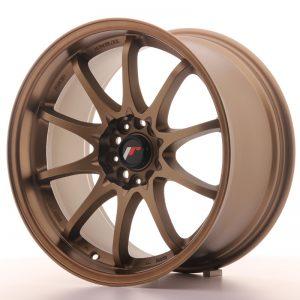 JR Wheels JR5 18x9,5 ET22 5x114,3 Dark Anodized Bronze