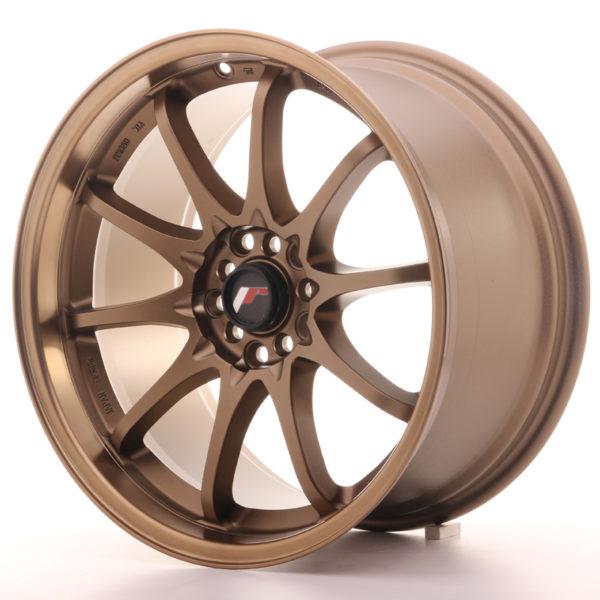 JR Wheels JR5 18x9,5 ET22 5x100/114,3 Dark Anodized Bronze