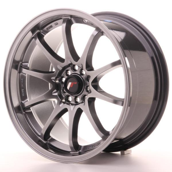 JR Wheels JR5 18x9,5 ET22 5x100/114,3 Hyper Black