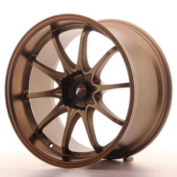 JR Wheels JR5 19x10.5 ET12 5H BLANK Dark Anodized Bronze