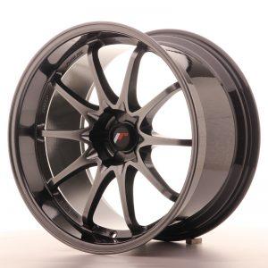 JR Wheels JR5 19x10.5 ET12 5H BLANK Hyper Black