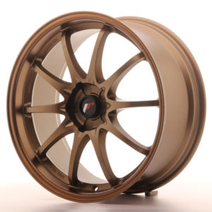 JR Wheels JR5 19x8.5 ET43 5H BLANK Dark Anodized Bronze