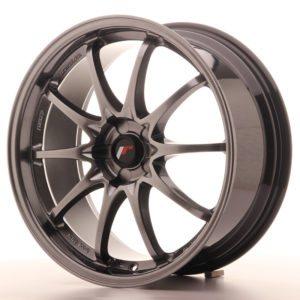 JR Wheels JR5 19x8.5 ET43 5H BLANK Hyper Black